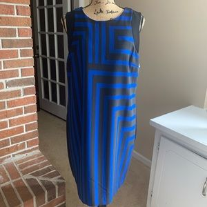 Black and Blue Mossimo Dress - Size XL NWT